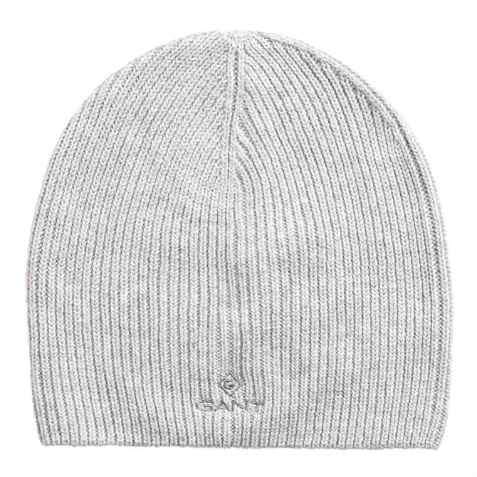 GANT Solid Knit Beanie Hat