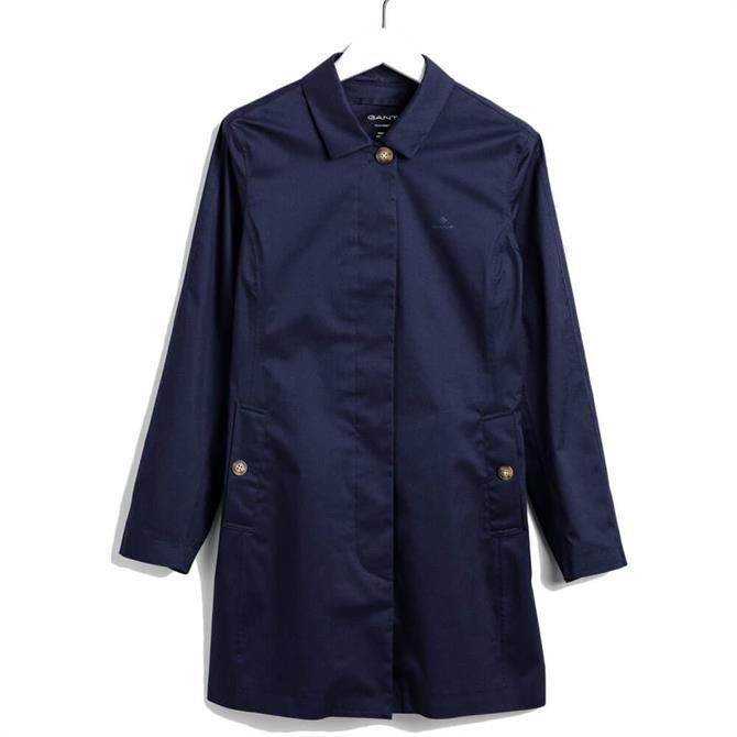 GANT Tech Prep Slim Rain Mac Coat