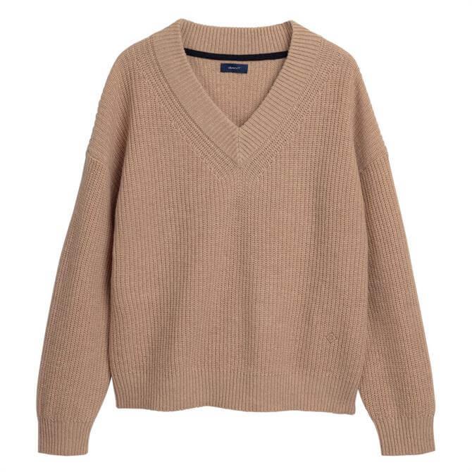 GANT Wool Rib Sweater