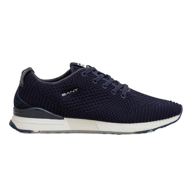 GANT Navy Brentoon Trainers