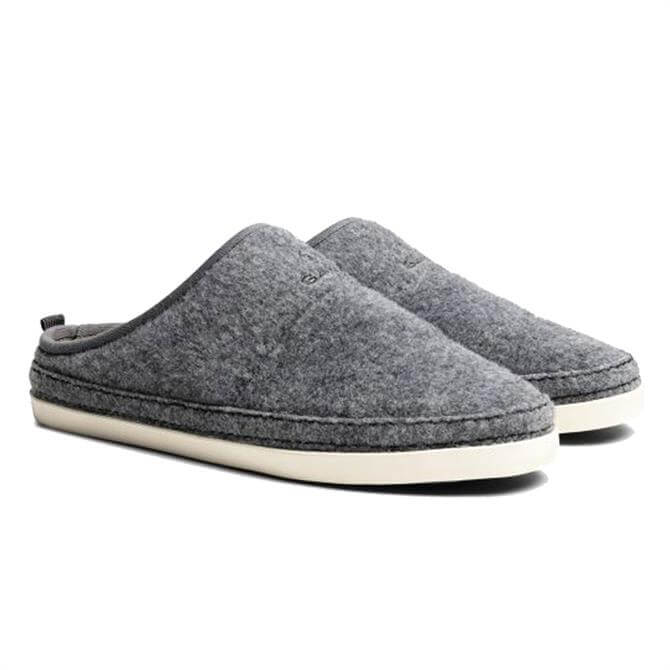 GANT Grey Frank Home Slippers