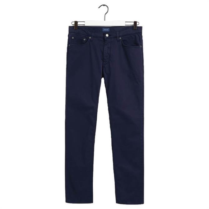 GANT Hayes Slim Fit Satin Jeans