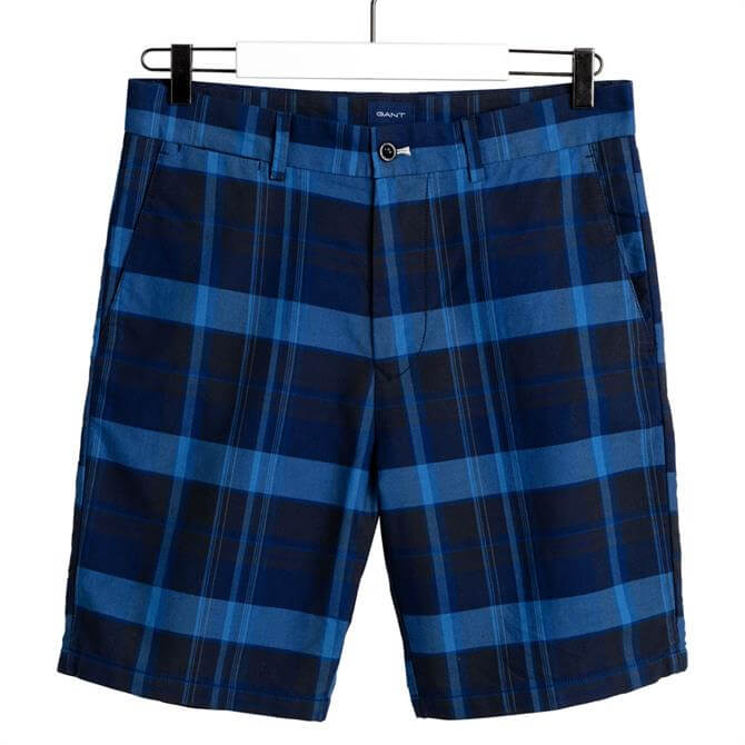 GANT Regular Fit Madras Shorts