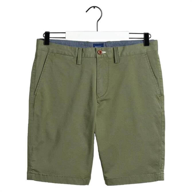 GANT Relaxed Fit Twill Shorts