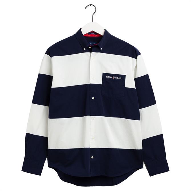 GANT Block Stripe Regular Fit Shirt