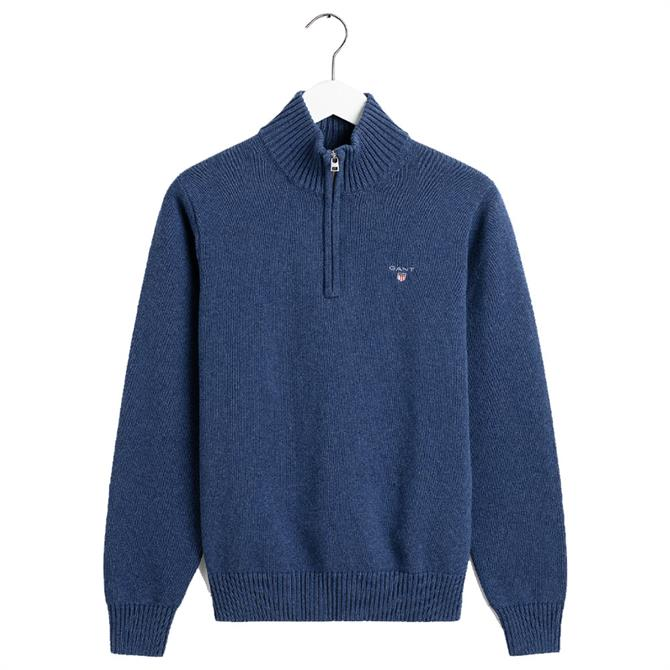 GANT Casual Cotton Half-Zip Jumper