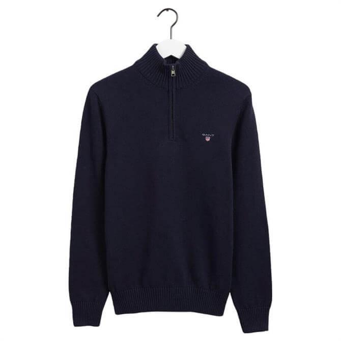 GANT Casual Cotton Half-Zip Sweater