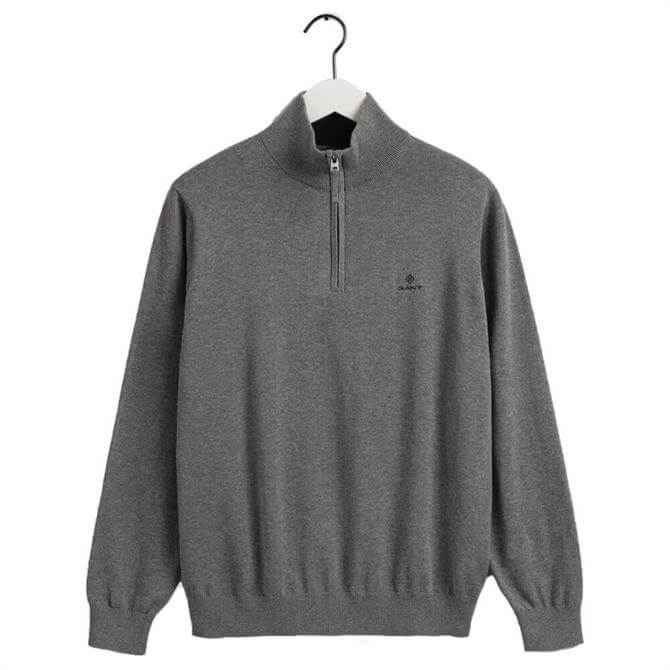 GANT Classic Cotton Half-Zip Sweater