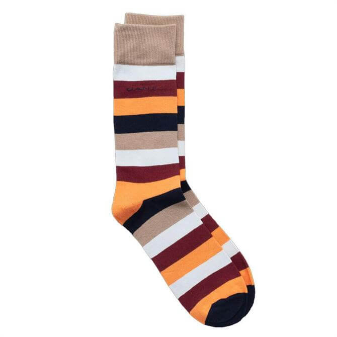 GANT Multicolour Blockstripe Socks