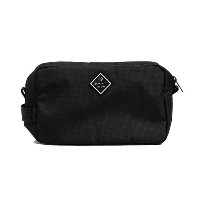 GANT Black Sports Wash Bag