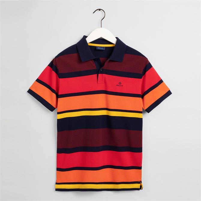 Gant Multi Stripes SS Pique