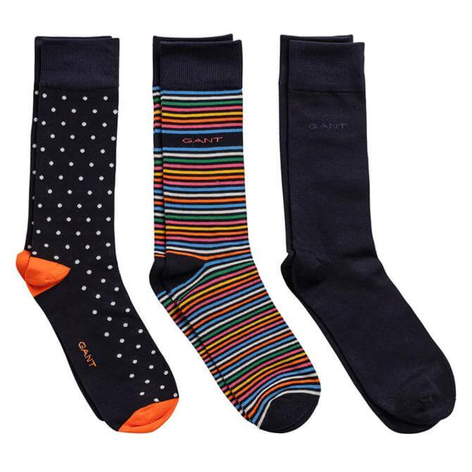 GANT Mixed Pattern Socks