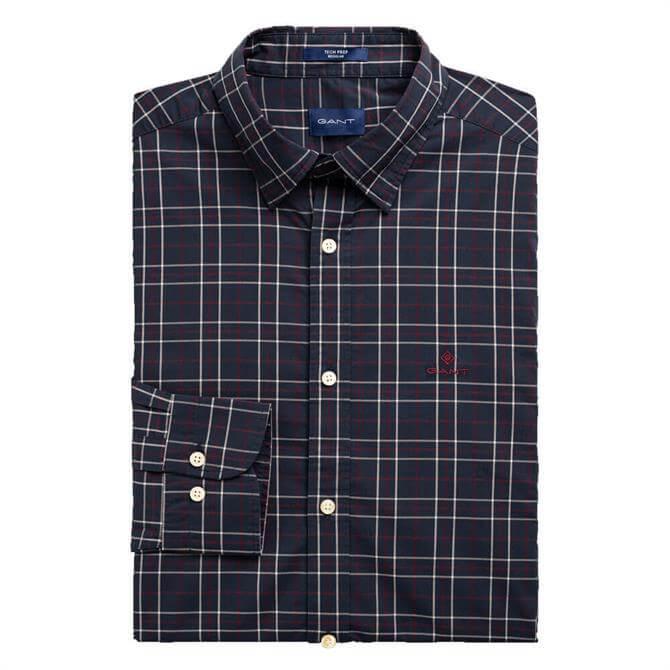 GANT Regular Fit Tech Prep Tattershall Broadcloth Shirt