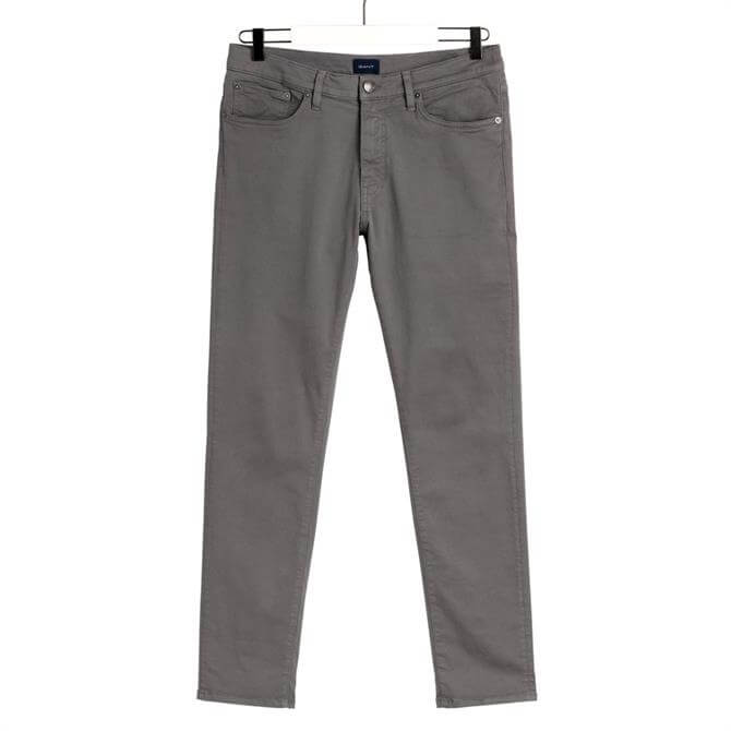 GANT Graphite Grey Slim Fit Desert Jeans