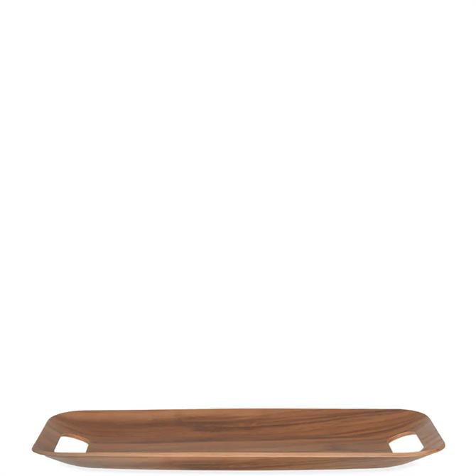 Garden Trading Brook Rectangular Walnut Tray