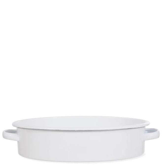 Garden Trading Enamel Oval Roasting Dish
