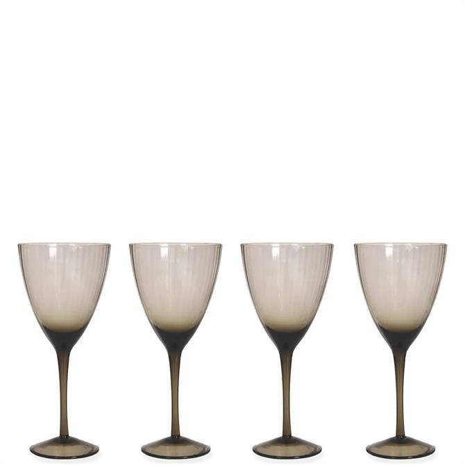 Garden Trading Berkeley Set of 4 Wine Glasses