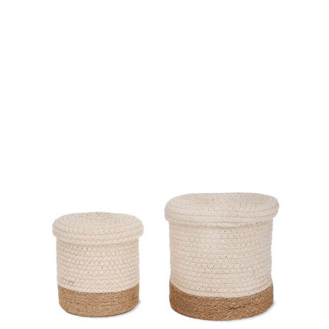 Garden Trading Set of 2 Beckley Storage Baskets