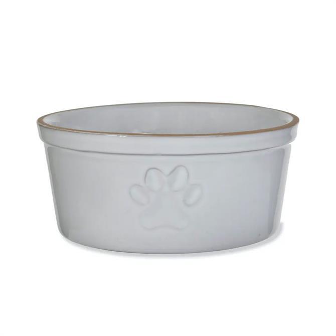 Garden Trading Paw Print Pet Bowl