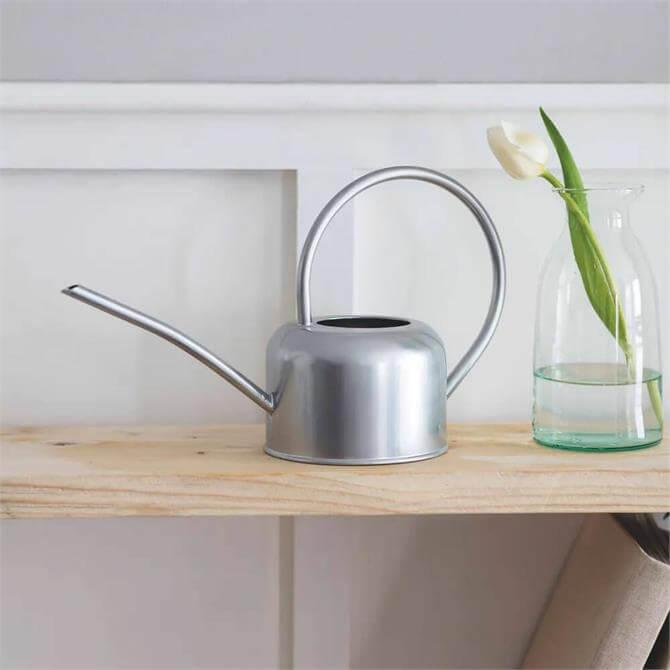 Indoor Watering Can Galvanised Steel 1.1L