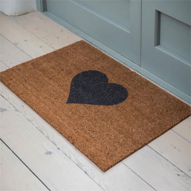 Garden Trading Small Heart Doormat