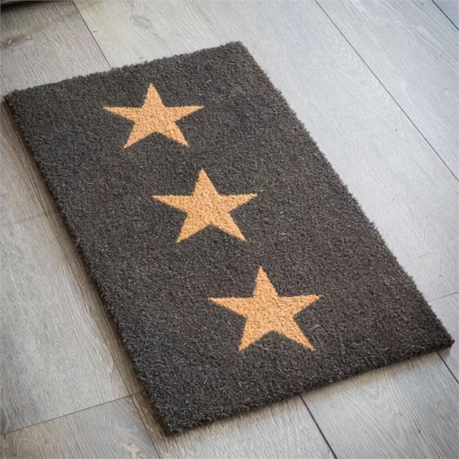 Garden Trading Doormat Three Star Small