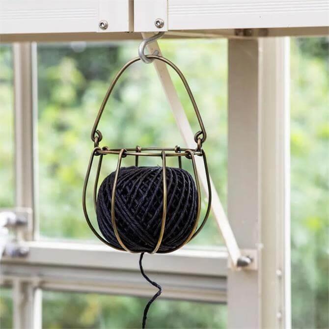 Wirework Ball of String Decoration
