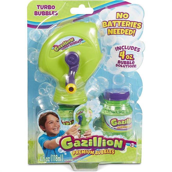 Gazillion Bubbles Turbo Bubbles