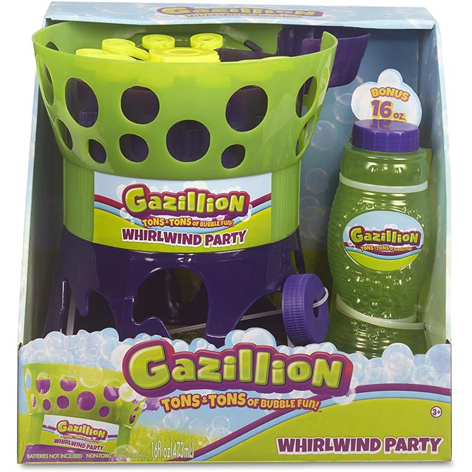 Gazillion Bubbles Whirlwind Bubble Toy