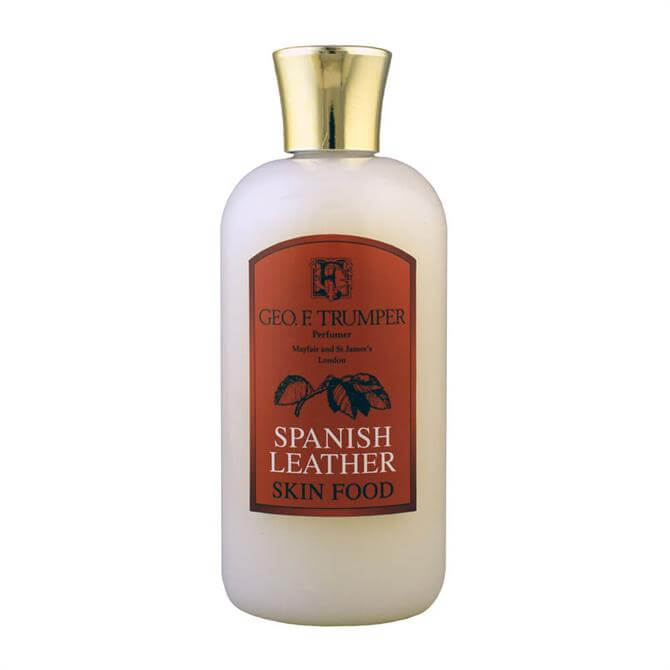 Geo F Trumper Spanish Leather Skin Food 200ml