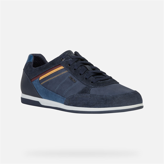 Geox Renan Sneakers in Navy & Denim
