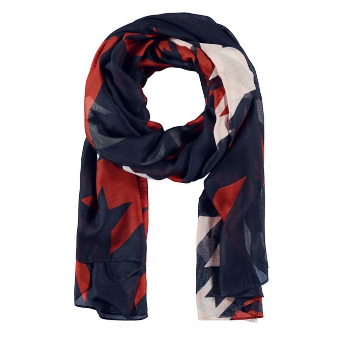 Gerry Weber Abstract Houndsooth Scarf