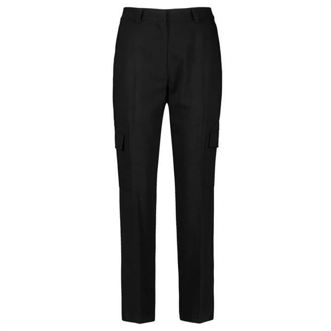 Gerry Weber Black Cargo Trousers