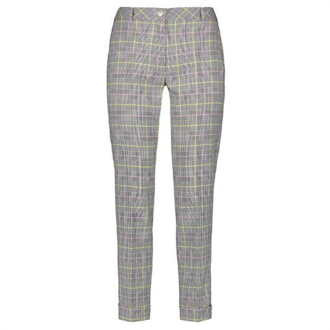 Gerry Weber Check Pattern Cropped Trouser