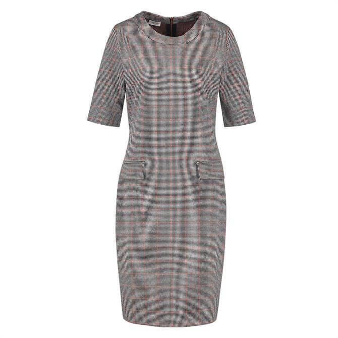 Gerry Weber Check Print Shift Dress