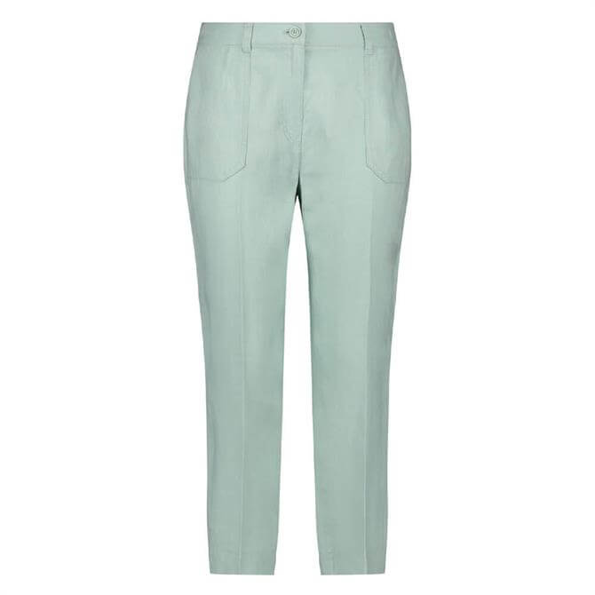 Gerry Weber Linen Cropped Leisure Trouser