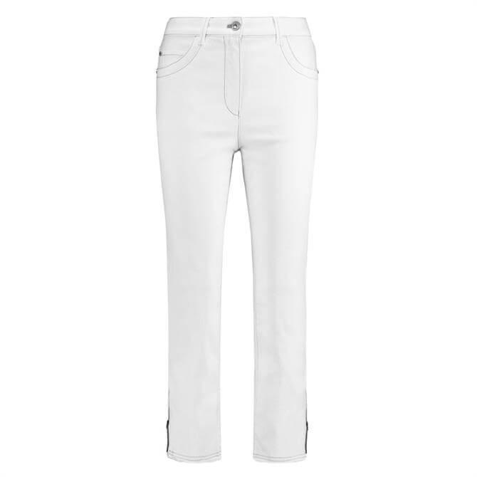 Gerry Weber Cropped Zip Hem Jeans