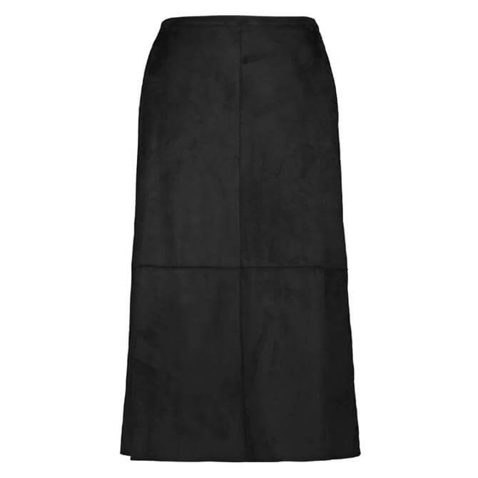 Gerry Weber Faux Suede Midi Skirt