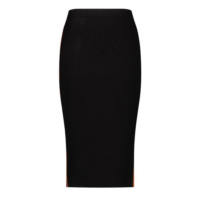 Gerry Weber Fine Knit Side Stripe Pull-On Skirt