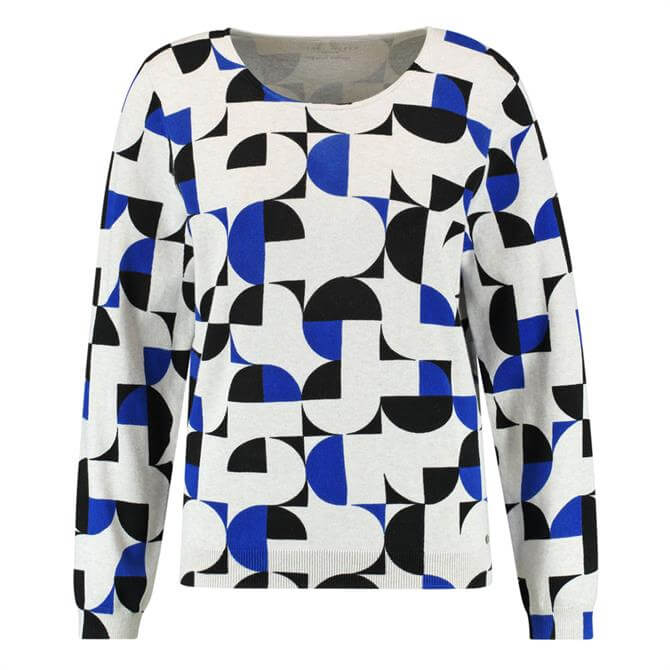 Gerry Weber Graphic Circle Print Jumper