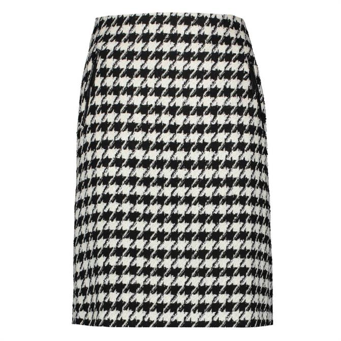 Gerry Weber Houndstooth Knit Skirt