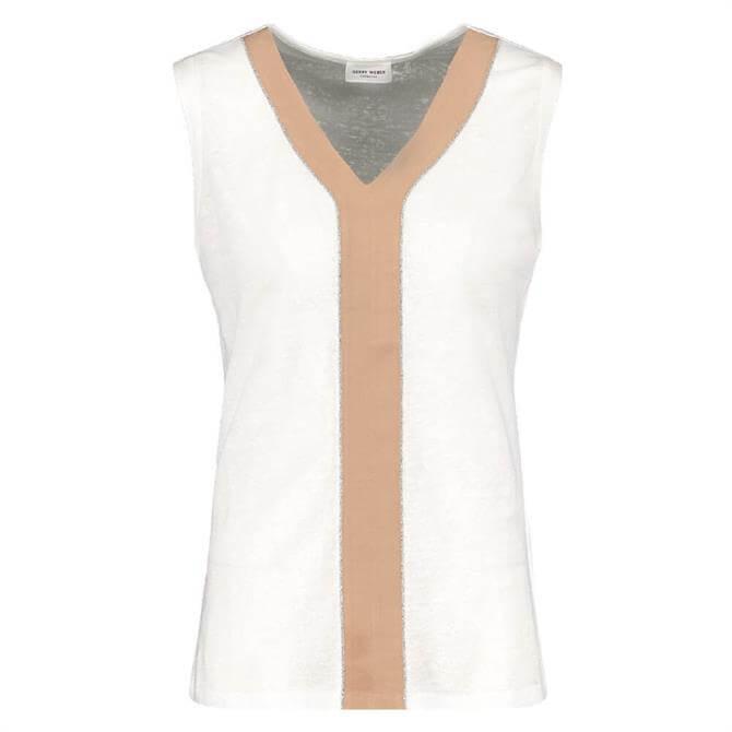 Gerry Weber Contrast Knitted Sleeveless Top