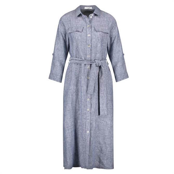 Gerry Weber Linen Shirt Dress