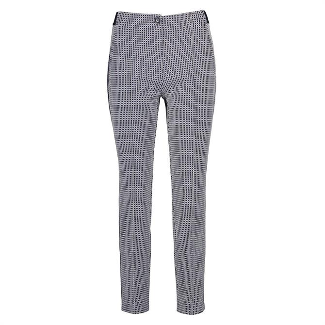 Gerry Weber Mini Check Skinny Trousers