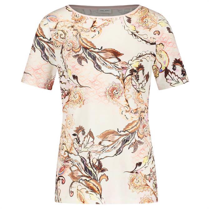 Gerry Weber Mixed Floral Print T-Shirt