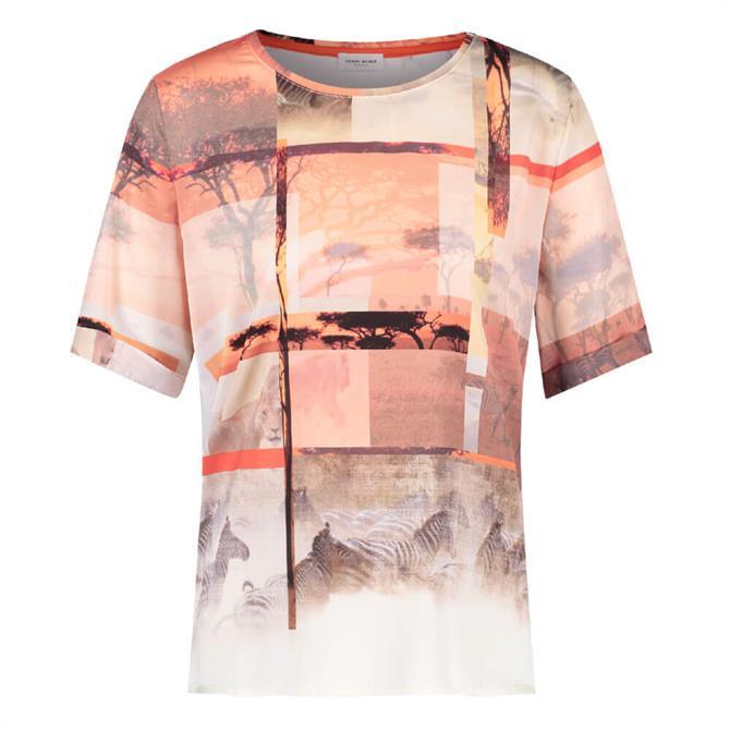 Gerry Weber Safari Print T-Shirt