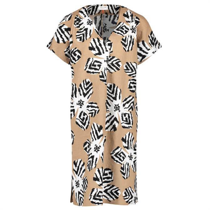 Gerry Weber Safari Print Linen Dress