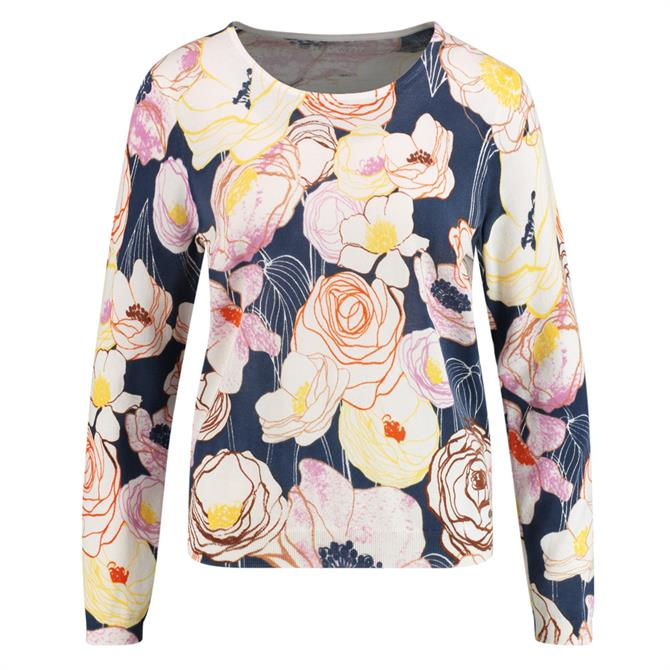 Gerry Weber Sketched Floral Jumper