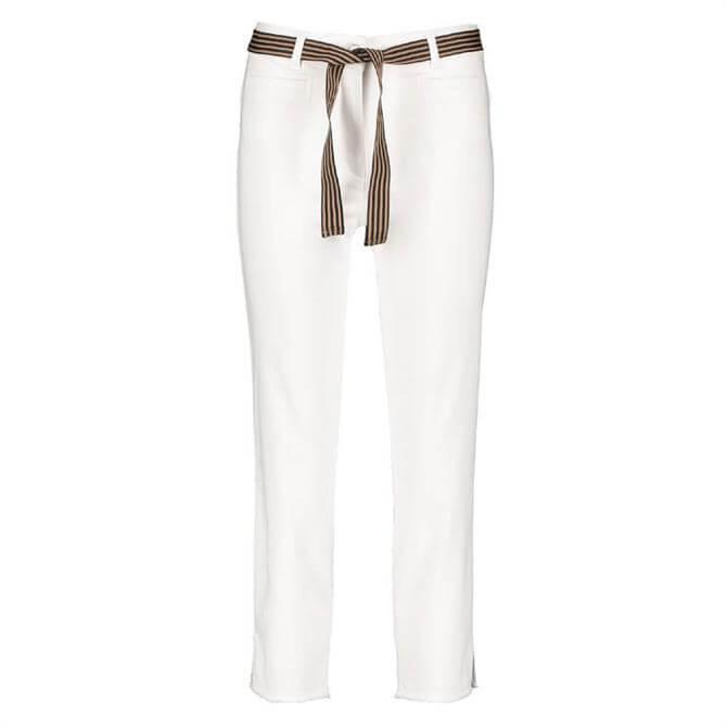Gerry Weber Tie Belt Cropped Jeans