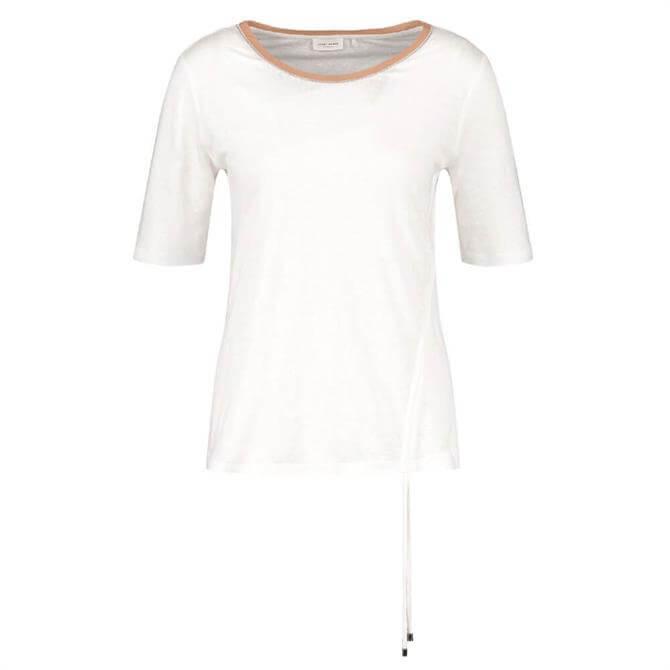 Gerry Weber Tie Detail Linen T-Shirt